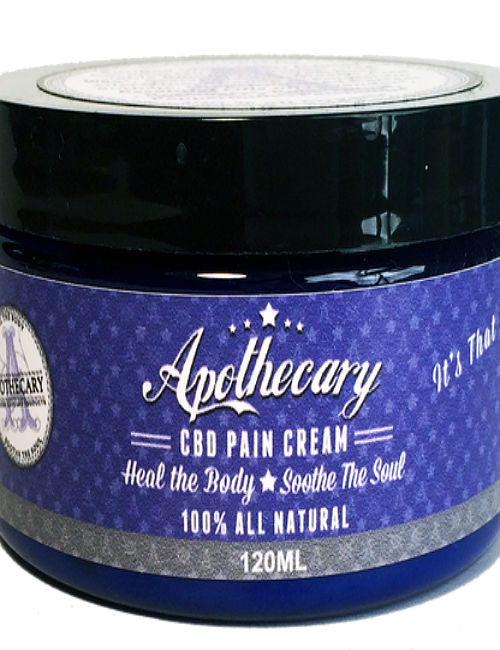 Apothecary CBD Topical Cream (120ml)
