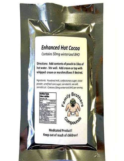 Cannabis THC Infused Hot Cocoa