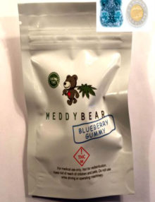 Cannabis-Gummy-Meddy-Bear-Blueberry