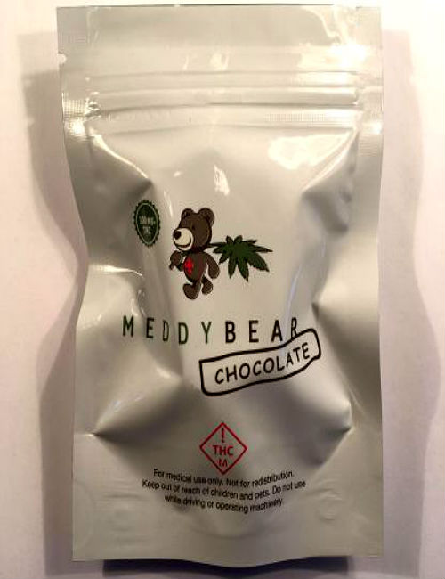Cannabis Chocolate Meddy Bears (100 mg THC)