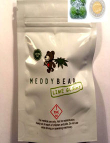 Meddy Bear Lime Gummy
