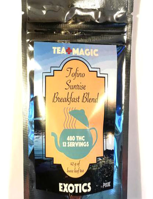 Cannabis Breakfast Blend Tea Tofino Sunrise ( 480 mg THC )