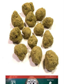 Cannabis Moon Rocks Strawberry (1g)