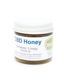 Cannabis CBD Honey