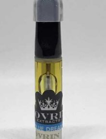 Cannabis Vape Pen Cartridge Sovrin Extracts (Blue Dream 1g)