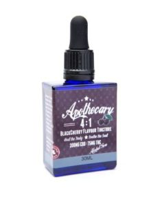 Apothecary Black Cherry 4 to 1 CBD Tincture